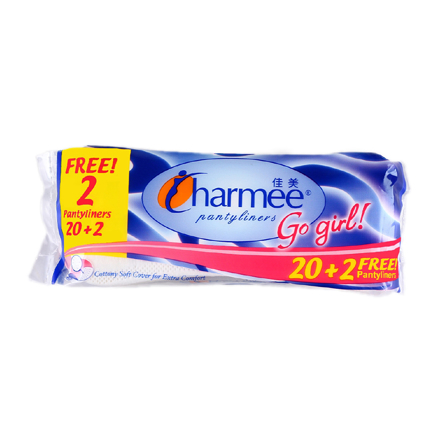 Picture of Charmee  Pantyliners Go Girl 20+2 Free Pantyliners,  CHA125A