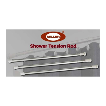 Picture of Miller Aluminum Shower Tension Rod, ML204S