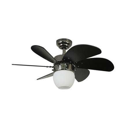 "Picture of Westinghouse Turbo Swirl 30"" Gun Metal Ceiling Fan, WH72062"