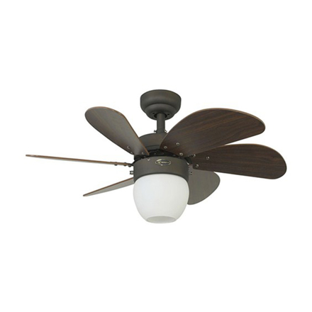 "Picture of Westinghouse Turbo Swirl 30"" Oil Rubbed Bronze Ceiling Fan, WH72064"