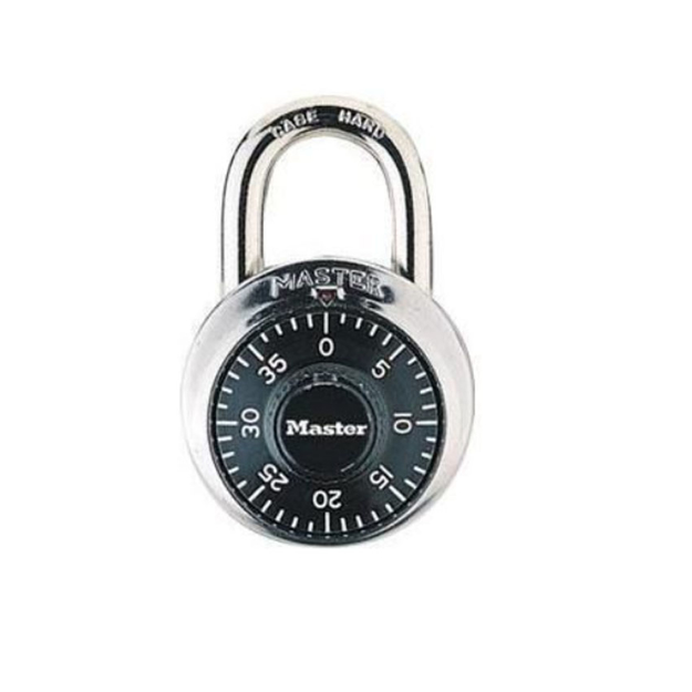 "Master Lock Combination Padlocks 3/4"" Shackle, 1505D의 그림"