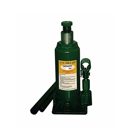 Picture of S-Ks Tools USA 15 Tons Hydraulic Bottle Jack (Green), JM-10015SH