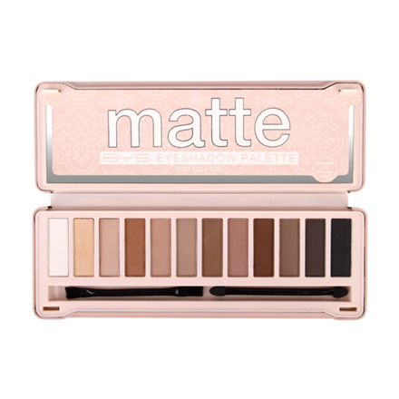 BYS Matte 12pcs Eyeshadow Palette, CO/ESOMAT의 그림
