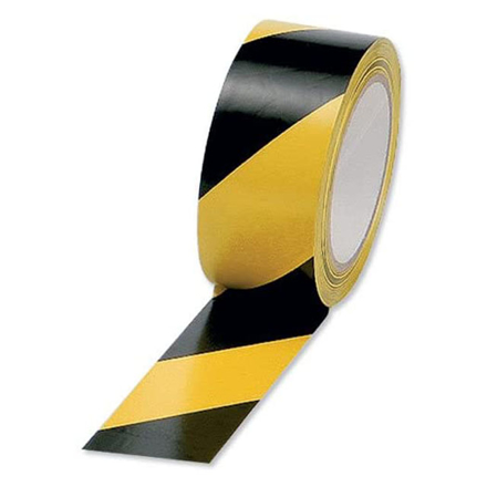 Picture of Excel Lane Marking Tape 48mm x 33m (Yellow/Black, Yellow, Blue, Red, Green, White, Orange, Black), EXCELLM.TAPE