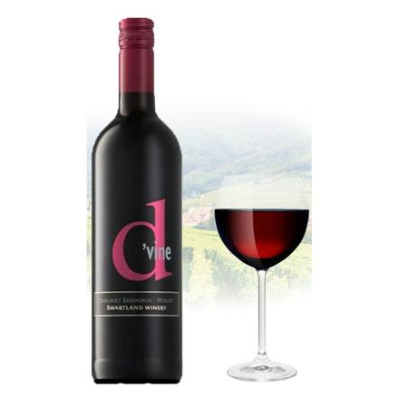 Picture of D'vine Cabernet Sauvignon & Merlot South African Red Wine 75 ml, D'VINECABERNET