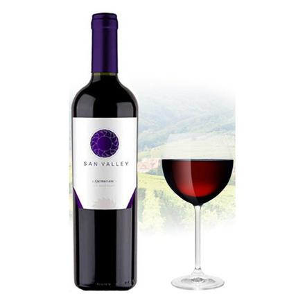 Picture of San Valley Carmenere Chilean Red Wine 750 ml, SANVALLEYCARMENERE