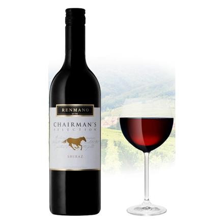 Picture of Renmano Chairman's Selection Shiraz Australian Red Wine 750 ml, RENMANOSHIRAZ