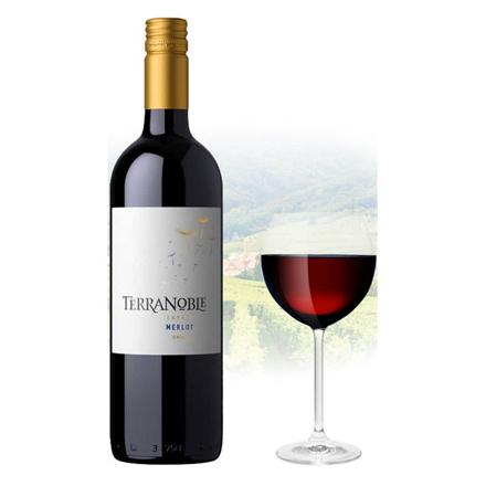 Picture of TerraNoble Estate Merlot Chilean Red Wine 750 ml, TERRANBOBLEMERLOT