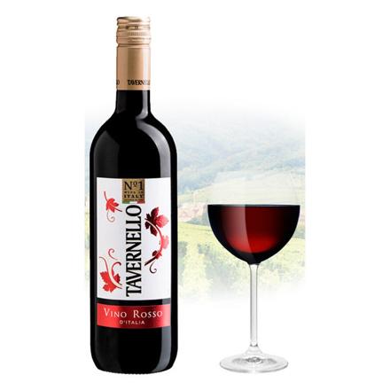Picture of Tavernello Vino Rosso d'Italia Italian Red Wine 750 ml, TAVERNELLOROSSO