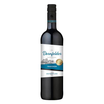 Picture of Wein-Genuss Dornfelder Trocken German Red Wine 750 ml, WEINTROCKEN