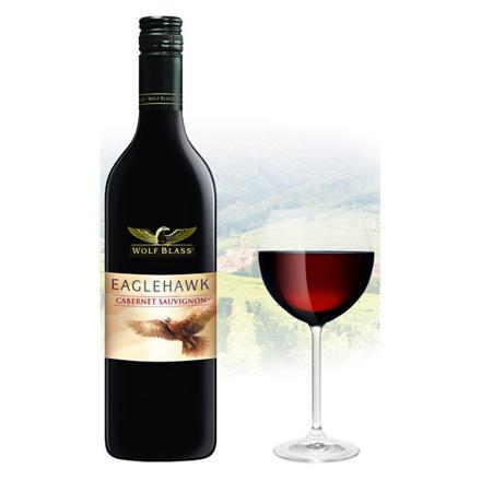 Picture of Wolf Blass Eaglehawk Cabernet Sauvignon Australian Red Wine 750 ml, WOLFBLASSCABERNET