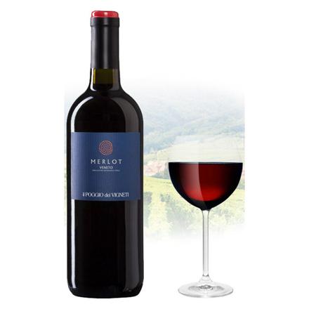 Picture of Il Poggio Merlot Italian Red Wine 750 ml, ILPOGGIOMERLOT