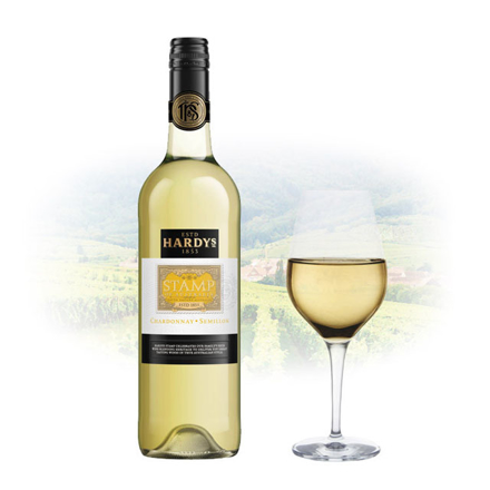 Picture of Hardy's Stamp Chardonnay & Sémillon Australian White Wine 750 ml, HARDYSSTAMP