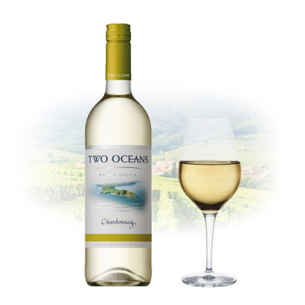 Picture of Two Oceans Chardonnay South African White Wine 750 ml, TWOOCEANSCHARDONNAY