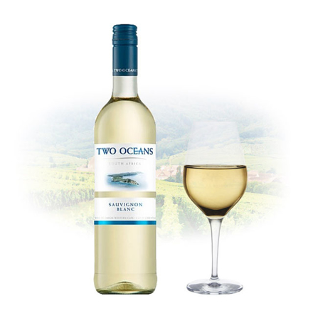 Picture of Two Oceans Sauvignon Blanc South African White Wine 750 ml, TWOOCEANSSAUVIGNON