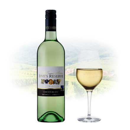 Picture of Five's Reserve Chenin Blanc South African White Wine 750 ml, FIVESRESERVECHENIN