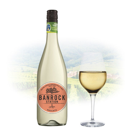 Picture of Banrock Station Moscato Australian White Wine 750 ml, BANROCKMOSCATO
