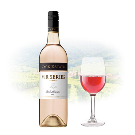 Picture of Jack Estate M-R Series Pink Moscato Australian Pink Wine 750 ml, JACKESTATEPINK