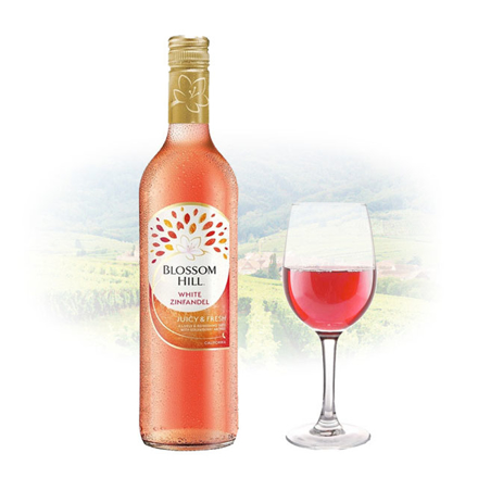 Picture of Blossom Hill White Zinfandel Californian Pink Wine 750 ml, BLOSSOMZINFANDEL