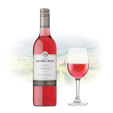 Picture of Jacob's Creek Classic Shiraz Rose Australian Pink Wine 750 ml, JACOBSCREEKROSE