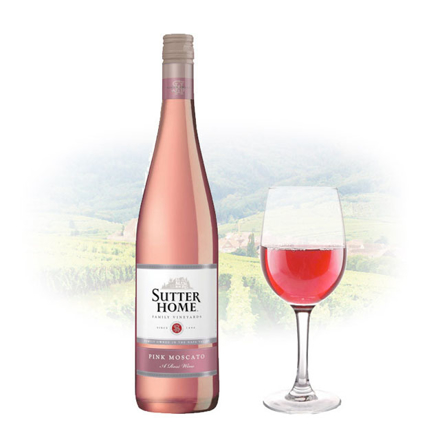 Picture of Sutter Home Pink Moscato Californian Pink Wine 750 ml, SUTTERMOSCATO