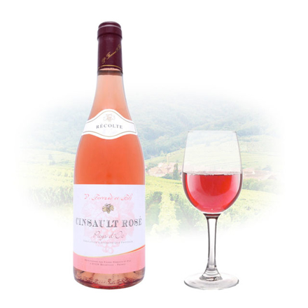 Picture of Ferraud & Fils Cinsault Rose French Pink Wine 750 ml, FERRAUDCINSAULT