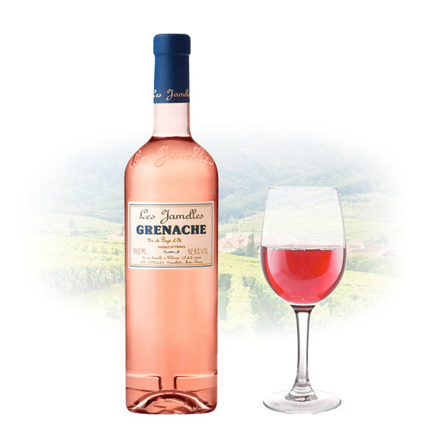 Picture of Les Jamelles Grenache Rose French Pink Wine 750 ml, LESJAMELLESROSE