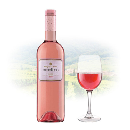 Picture of Marques de Caceres Excellens Rioja Rose Spanish Pink Wine 750 ml, MARQUESROSE