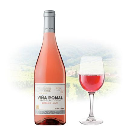 Picture of Viña Pomal Garnacha Viura Rose Spanish Pink Wine 750 ml, VINAPOMALROSE