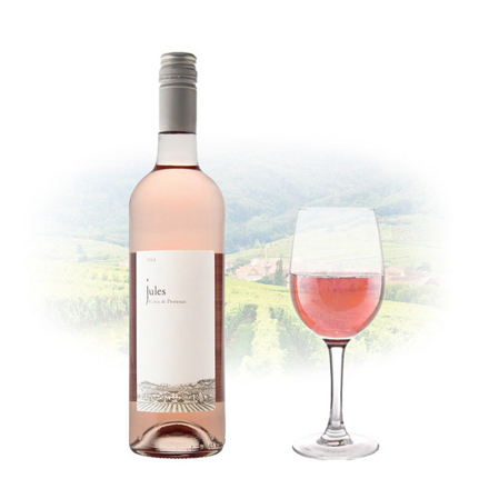 Picture of Jules Rose Cotes De Provence AOC French Pink Wine 750 ml, JULESROSE