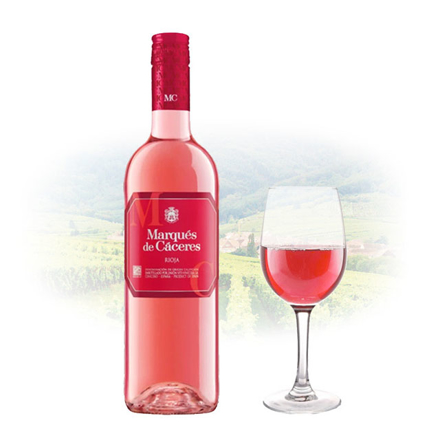 Picture of Marques de Cáceres Rioja Dry Rose Spanish Pink Wine 750 ml, MARQUESRIOJA