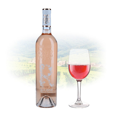 Picture of Chateau Roubine 'R' Roubine Rose French Pink Wine 750 ml, CHATEAUROSE