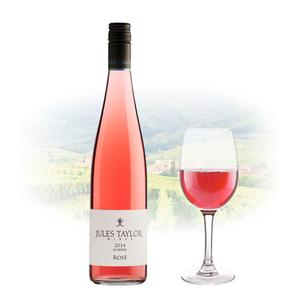 Picture of Jules Taylor Gisborne Rose New Zealand Pink Wine 750 ml, JULESTAYLORROSE