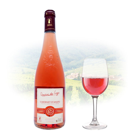 Picture of Cabernet d'Anjou Domaine des Forges Rose French Red Wine 750 ml, CABERNETDOMAINEROSE