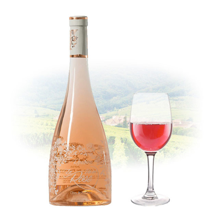 Picture of Chateau Roubine La Vie en Rose French Pink Wine 750 ml, CHATEAUROUBINELAVIE