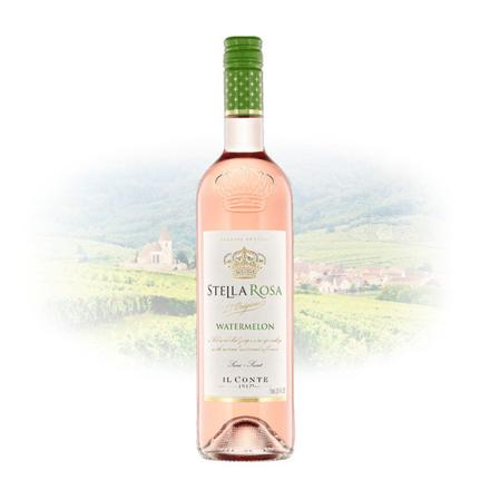 Picture of Stella Rosa Watermelon (Semi-Sweet) Italian Sweet Wine 750 ml, STELLAROSAWATERMELON