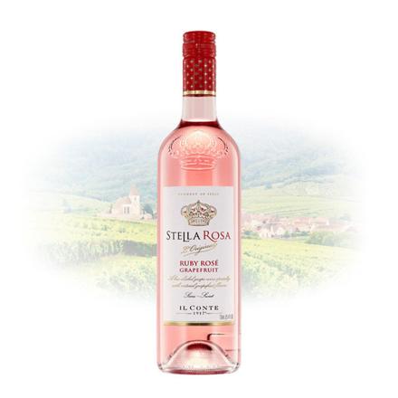 Picture of Stella Rosa Ruby Rose Grapefruit (Semi-Sweet) Italian Sweet Wine 750 ml, STELLAROSARUBY
