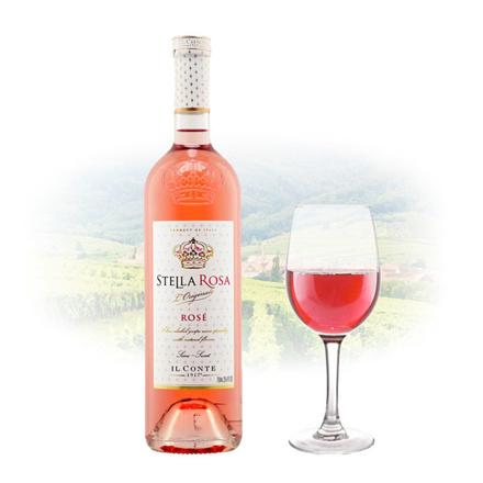 Picture of Stella Rosa Moscato Rose (Semi Sweet) Italian Pink Wine 750 ml, STELLAROSAMOSCATO750