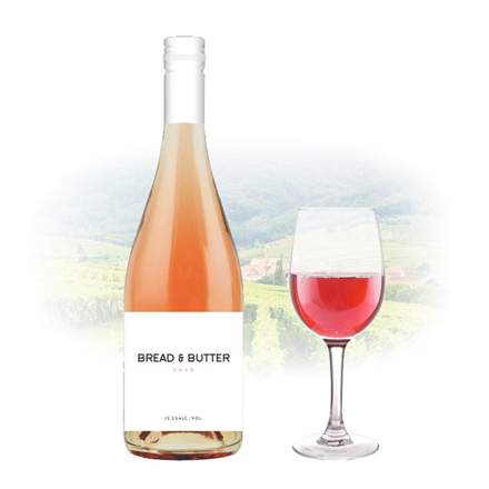 Picture of Bread & Butter Rose Californian Pink Wine 750 ml, BREADROSE
