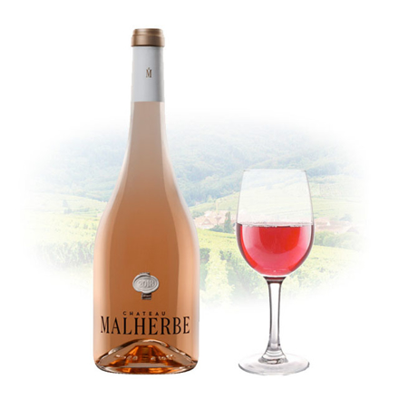 Picture of Chateau Malherbe Cotes de Provence Rose French Pink Wine 750 ml, CHATEAUMALHERBEROSE