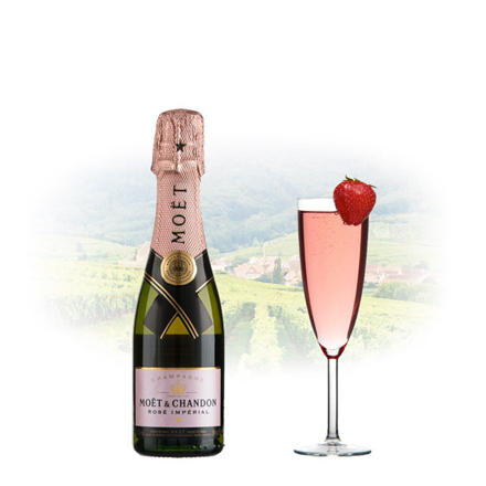 Picture of Moet & Chandon Rose Imperial Champagne 375ml (Half Bottle), MOETROSE375