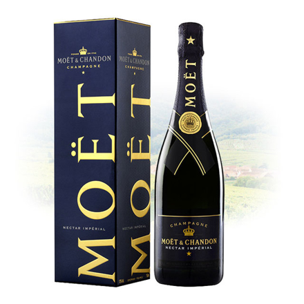 Picture of Moet & Chandon Nectar Imperial Champagne 750 ml, MOETNECTAR