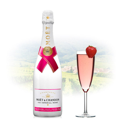 Picture of Moet & Chandon Ice Imperial Rose Champagne 750 ml, MOETICEIMPERIAL750
