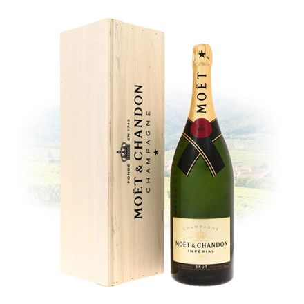 Picture of Moet & Chandon Brut Imperial Champagne Jeroboam 3L, MOETIMPERIALJEROBAM