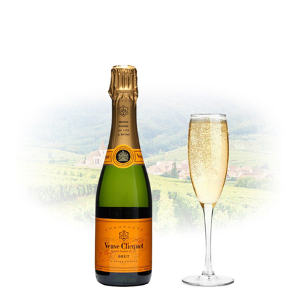 Picture of Veuve Clicquot Brut Champagne 375ml (Half Bottle), VEUVEBRUT375
