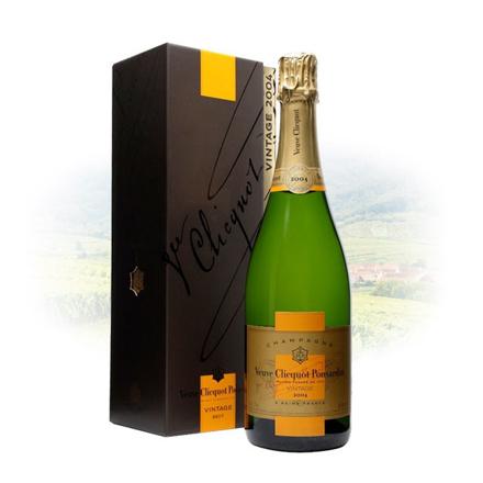 Picture of Veuve Clicquot Brut Vintage 2004 Champagne 750 ml, VEUVEBRUT2004