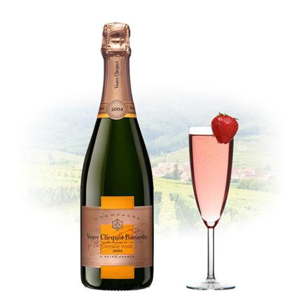 Picture of Veuve Clicquot Rose Vintage 2004 Champagne 750 ml, VEUVEROSE2004