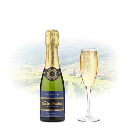 Picture of Nicolas Feuillatte Brut Reserve Champagne 375ml (Half Bottle), NICOLASRESERVE