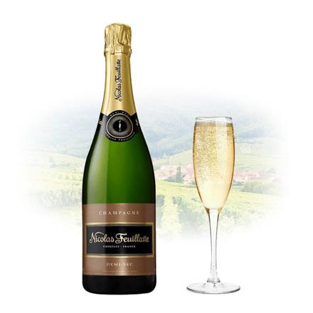 Picture of Nicolas Feuillatte Demi-Sec Champagne 750 ml, NICOLASDEMISEC