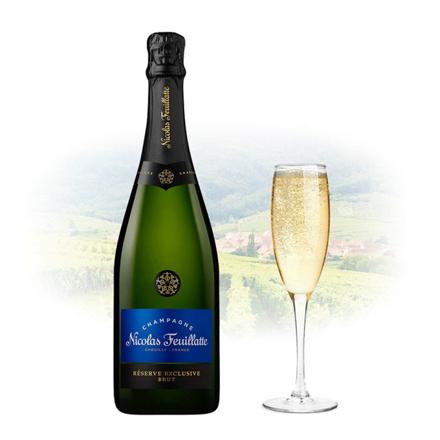 Picture of Nicolas Feuillatte Reserve Exclusive Brut Champagne 750 ml, NICOLASEXCLUSIVE
